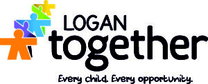 Logan Together Logo - standard with tag - CMYK