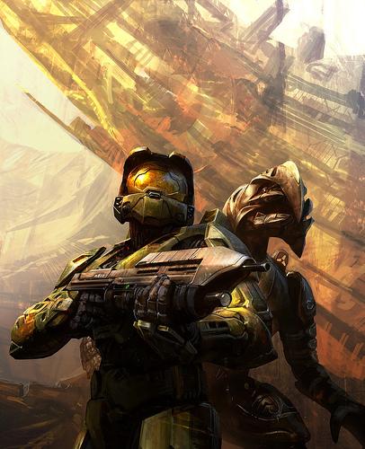 Master Chief & Arbiter