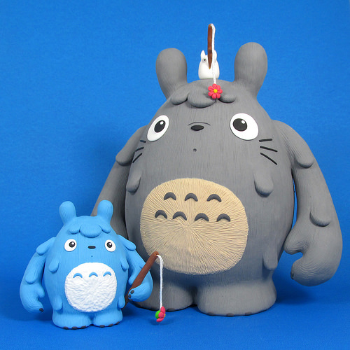 Totoro and Friends Custom Dudebox