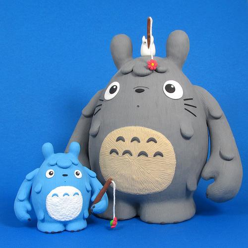Totoro and Friends Custom Dudebox