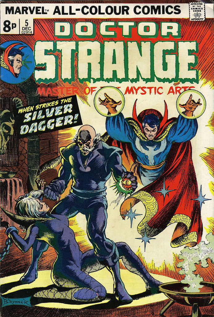 Doctor Strange 005 [Dec 1974]