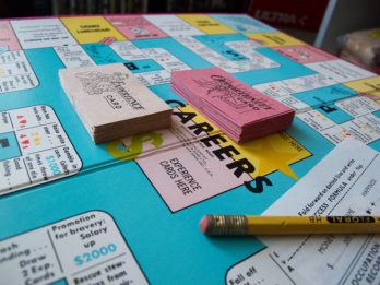 Careers board game