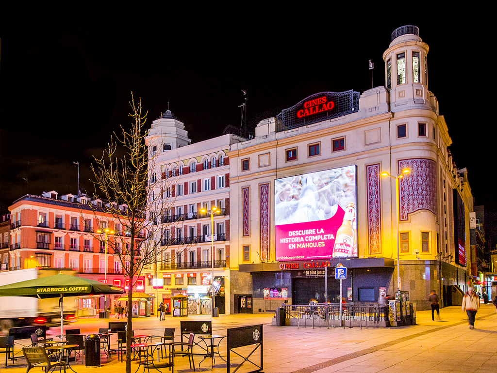 Cines Callao, Madrid febrero 2017