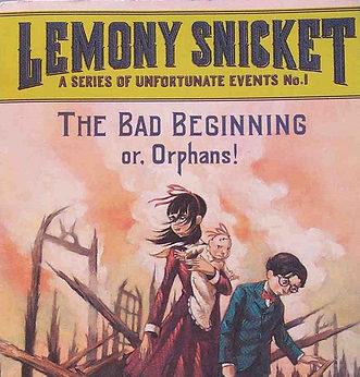 lemony snicket bad beginning