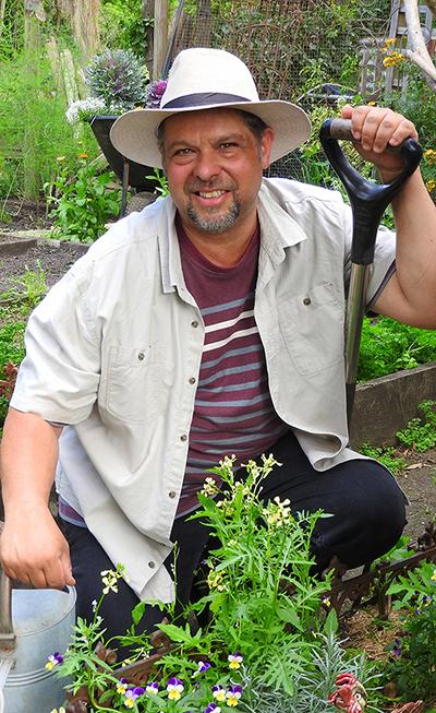 Noel Burdette gardening sessions 2