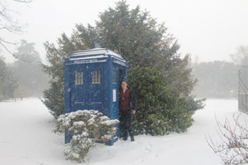 IMG_3586 - Snow - Tardis