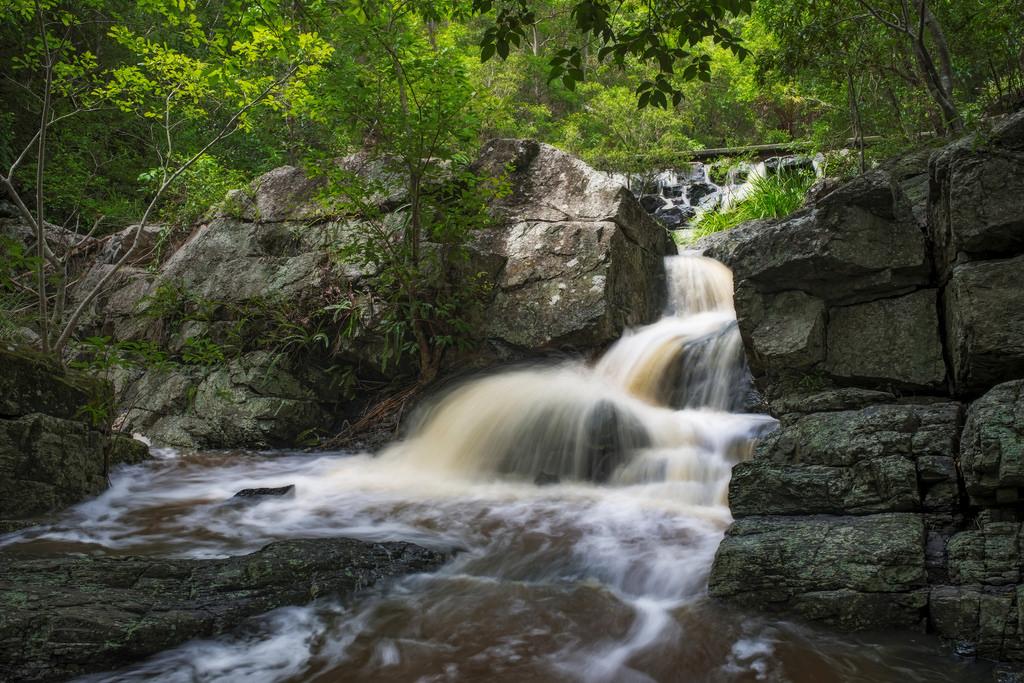 JC Slaugher Falls Mount Cootha Brisbane