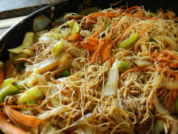 Sweet and Spicy Noodle Bowl