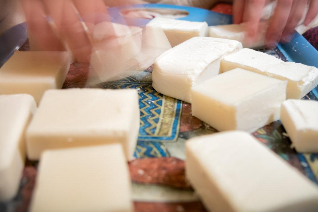 Handmaking Soap