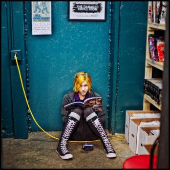The Damaged Books Room (Fantagraphics).