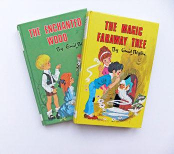 Vintage Enid Blyton - The Magic Faraway Tree (1986) and The Enchanted Wood (1986)