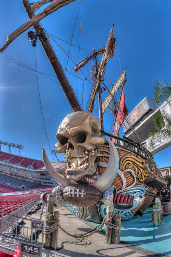 Pirate Ship Front View