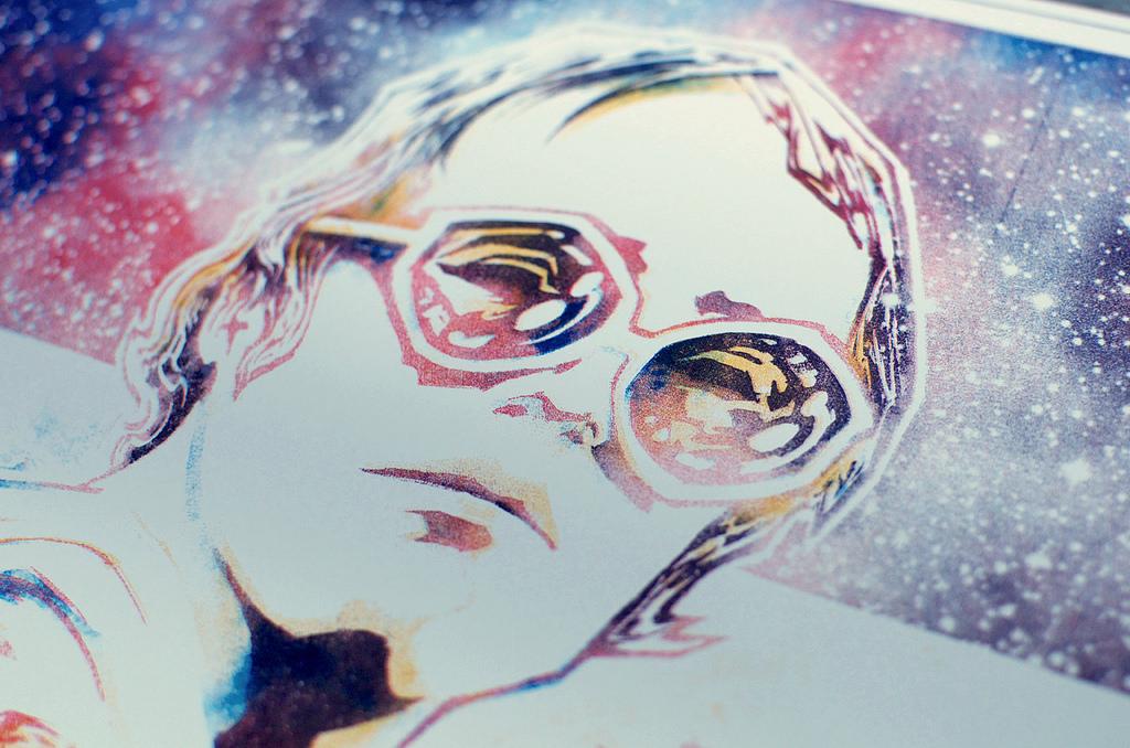 Elton John Screenprints