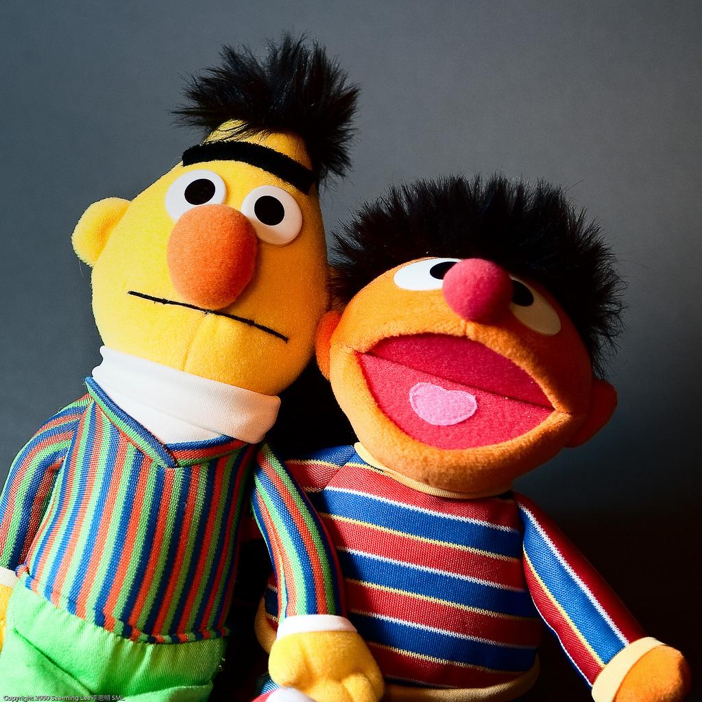 Ideal Husbands: Bert and Ernie / 20090917.10D.53940.P1.SQ / SML