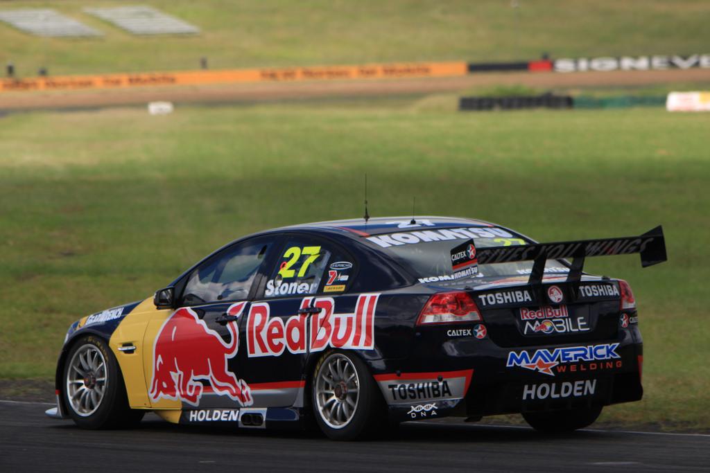 Red Bull Racing Australia Test Day