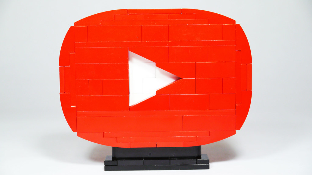 LEGO YouTube Play Button