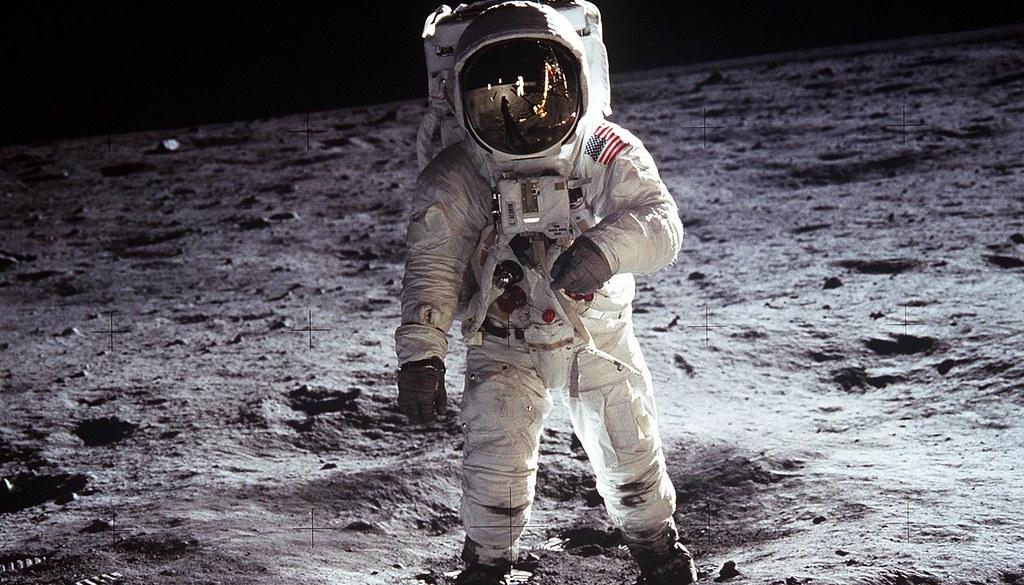 Apollo 11 - Buzz Aldrin Poses (classic)
