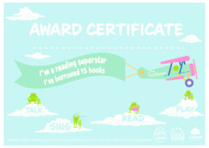 Award Certificate - 15 books