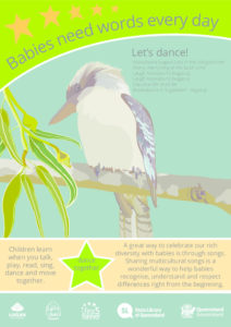Poster - DANCE<br />Kookaburra in the old gum tree