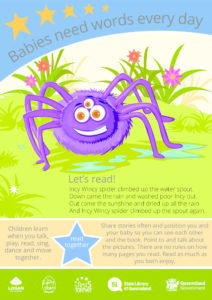 Poster - READ<br />Incy Wincy Spider