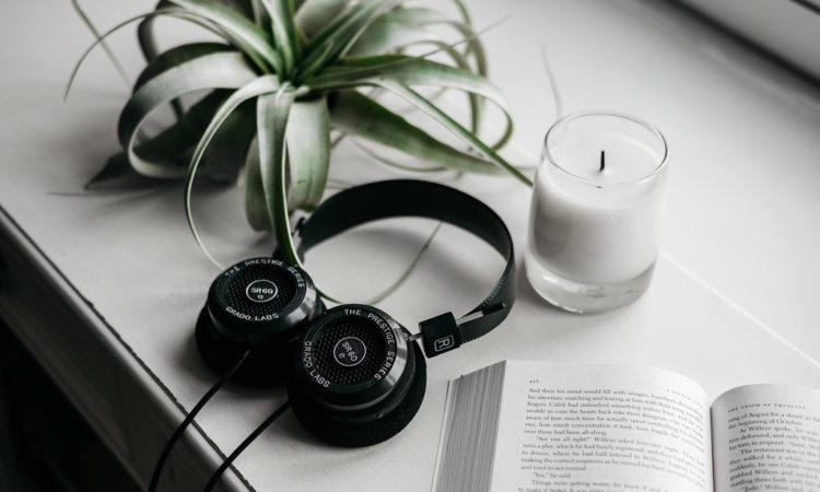 Grado SR60e Headphones in Window Sill
