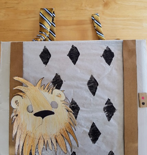 Easy Lion Mask and Elevator costume